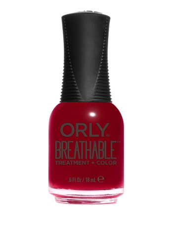 Orly red Orly Breathable Nail Lacquer Namaste Healthy 13A03BEEF764F6GS_1