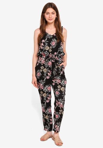 Mela London multi Floral Print Jumpsuit BA047AA8EC60C1GS_1