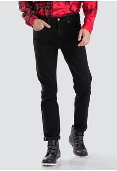 99b55148bee Levi's black Levi's 512™ Slim Taper Fit Selvedge Jeans 32472AAB2C7766GS_1 45%  OFF ...