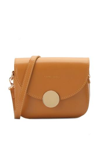 PLAYBOY BUNNY orange Metal Hardware Sling Bag 913CCAC6FC0CC3GS_1