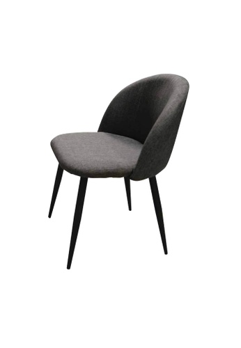 Chic Establishment black and grey Saalfelden Chair E9A44HL50AB2CFGS_1