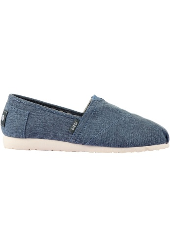 paperplanes navy Paperplanes-1197 Fashion Casual Low Top Easy Slip-Ons Shoes US Women Size PA355SH20QBFSG_1