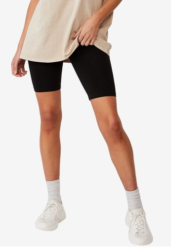 Cotton On black High Waisted Dylan Bike Shorts 43767AAF9787CBGS_1