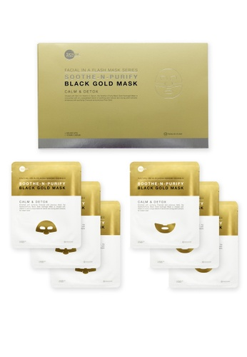 Skin Inc Soothe-N-Purify Black Gold Mask SK423BE58DQBMY_1