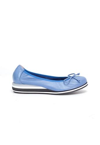 Shu Talk blue WONDERS Comfy Simple Flats 01DDBSH7C0331AGS_1