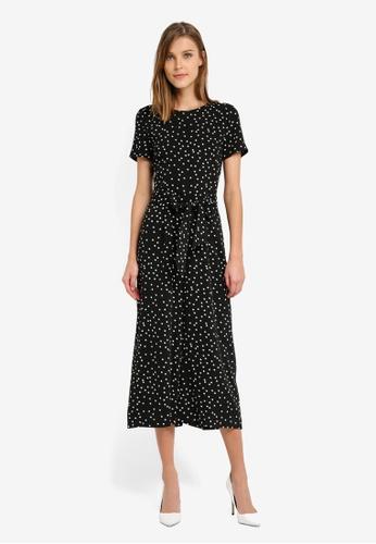 Professional Cheap Online Online Shop Womens Spot Print Crepe Jumpsuit Warehouse Footaction Cheap Price Cheap Professional Manchester Online kOokKXpj