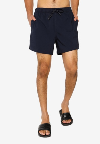 Abercrombie & Fitch navy 5 Inch Pull On Swim Shorts C5511USB80D023GS_1