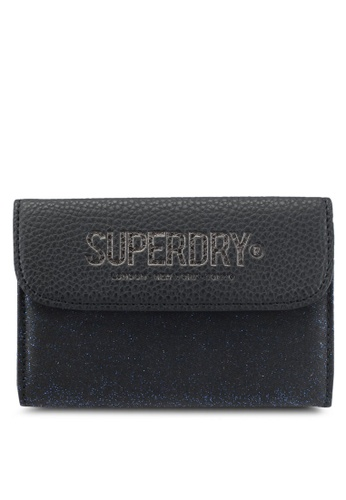 Superdry navy Evey Fold Purse SU137AC0T1Z5MY_1