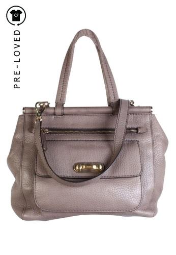 TOD'S grey Pre-Loved tods Grey Handbag 60873ACDB09ED1GS_1