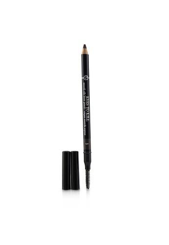 Giorgio Armani GIORGIO ARMANI - Eyes To Kill Smooth Silk Brow Pencil - # 3 Wenge Wood 1.19g/0.042oz 71048BE09BC55CGS_1