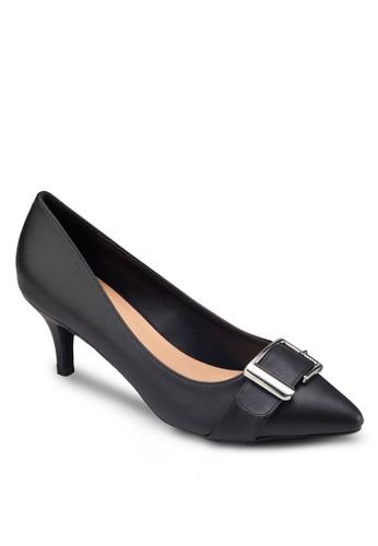 方環尖頭高跟鞋, zalora 內衣女鞋, 鞋