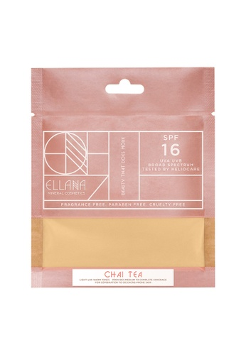 Ellana Mineral Cosmetics white Loose Mineral Foundation Refill Only - Chai Tea Latte EL322BE96PAXPH_1