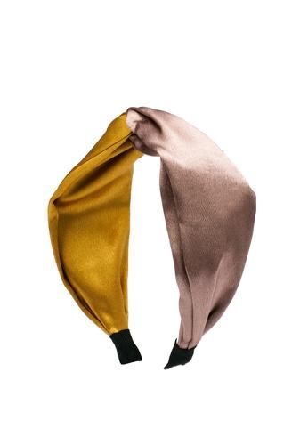 ALDO yellow Silverdollar Headband 380BCAC28AE034GS_1