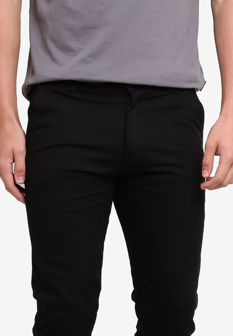 Chinos 430 Straight Black Slim Fidelio WqEY5qrw