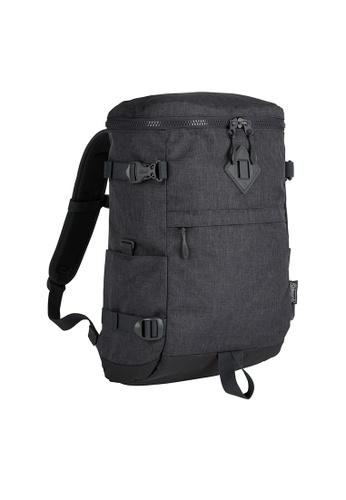 Coleman grey Atlas Quadra Travel Backpack 9206BAC33D1120GS_1