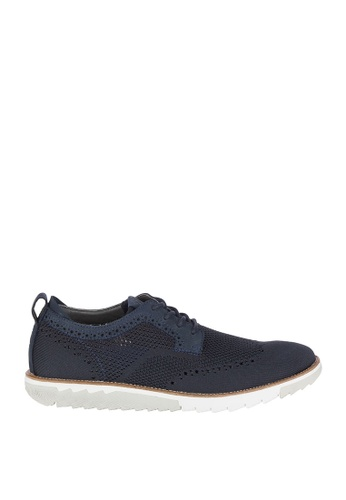 Hush Puppies navy Expert MT Oxford Shoes DF093SH2C120DAGS_1