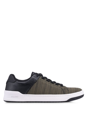 ALDO green Olilian Low Lace Sneakers 6BBDBSH03FB499GS_1