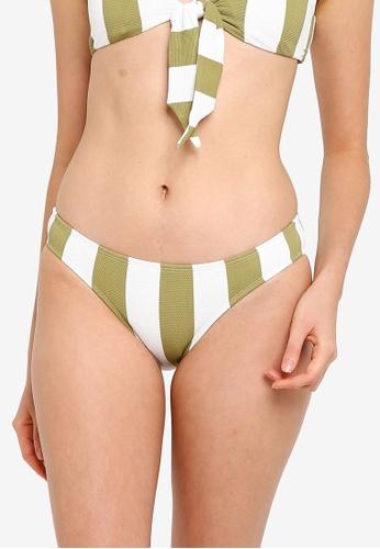 Billabong 綠色 質感比基尼泳褲 C59DBUS6FAED53GS_1