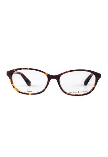 Kate Spade brown Kate Spade Niki Tortoise Eyeglasses 086 KA433AC10JUNMY_1