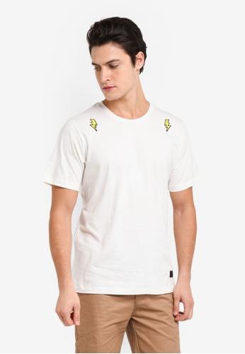 Flesh Imp 白色 Kranz Patches T-Shirt E0E27AAC9C1CCCGS_1