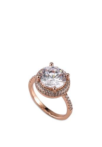 Megane gold Ashryn Round Cut Ring A631BACFCFAC97GS_1