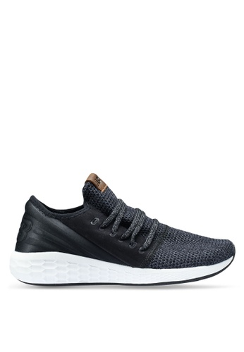 New Balance black and grey Cruz Future Sport Decon Shoes 46267SH56D98EDGS_1