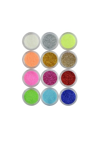 Pretty2u multi Glitter Powder Set PR716BE56QLJMY_1