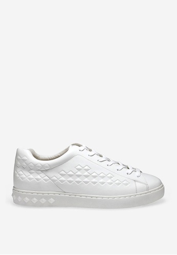 ASH white Power - White Embossing Sneakers DC70ASH6166BCEGS_1