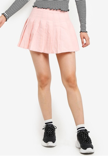 Factorie pink Pleated Skirt 5C1B1AA7F88625GS_1