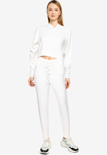 Brave Soul white Two Piece Knitted Set 42137AA9070D89GS_1