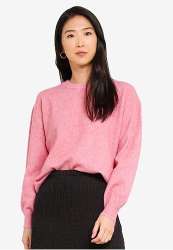 Vero Moda pink Philine O-neck Sweatshirt 49203AA0123C6CGS_1