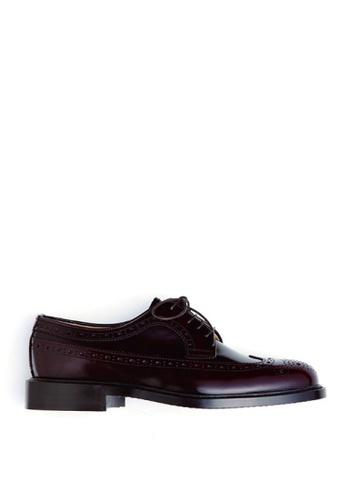 HARUTA 褐色 男裝經典綁帶皮鞋-710 22110SH418E1BFGS_1