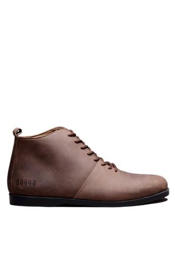 Brodo brown BRODO - Sepatu Pria Signore EZ E+ Dark Choco BS CD988SHECA1D3DGS_1