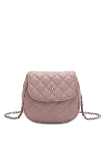 PLAYBOY BUNNY pink Women's Sling Bag / Shoulder Bag / Crossbody Bag C43B5ACE4B097FGS_1