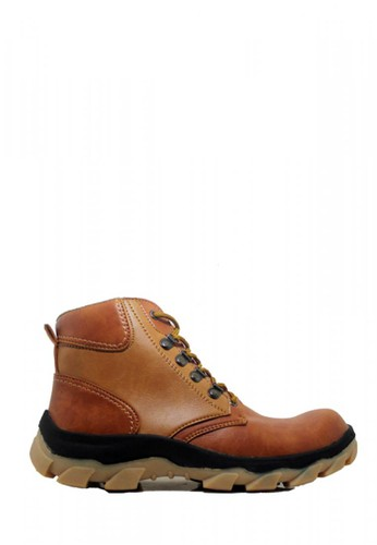 Cut Engineer brown Cut Engineer Safety Boots Deployment Best Quality Brown 39782SHD469589GS_1