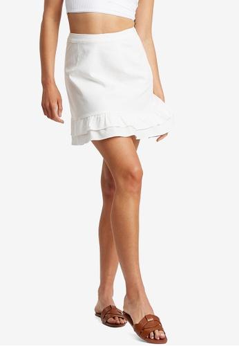 The Fated white Anya Skirt 2F5BEAAD9F5C3CGS_1