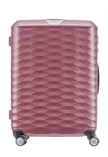 Samsonite pink Samsonite Polygon Spinner 69/25 Luggage F5D6BACCD9431EGS_1