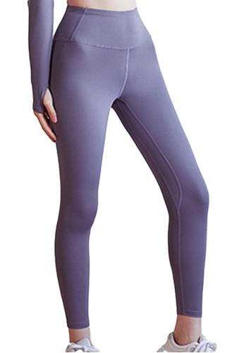 Sunnydaysweety purple High-Rise Stretch Tights A081024PU CB0B2AA15C6FCAGS_1