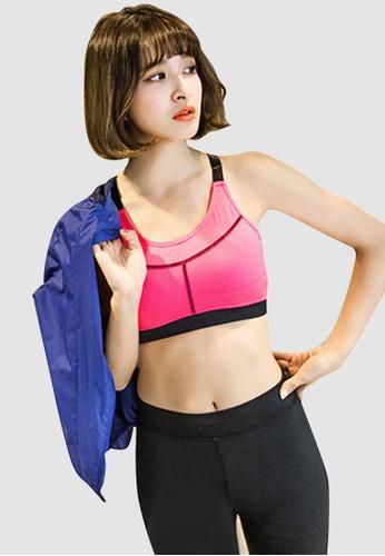 Sesura pink Hustle Away Sports Bra 4BCECAA0F1E1A8GS_1