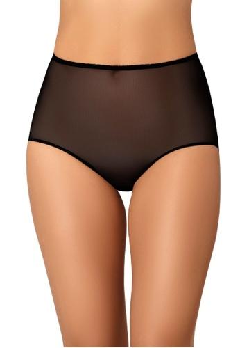 Teyli black Women's Panties Retro Black F91E7USD938D4CGS_1