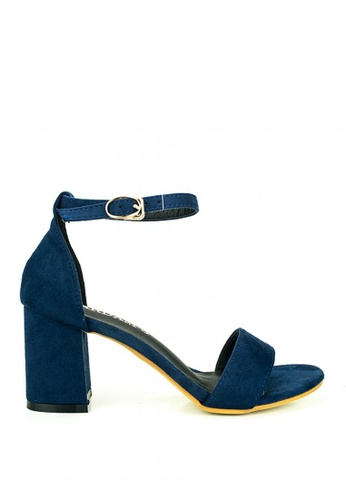 Cardam's Lifestyle blue Mona Heeled Sandals 6A554SH155F289GS_1