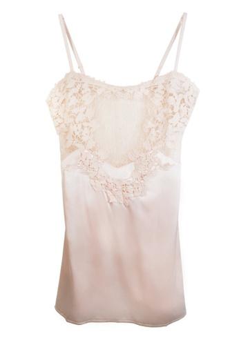 ZITIQUE white Imitation Silk Suspender Sleepwear-White 6E5B0USC3C9D70GS_1