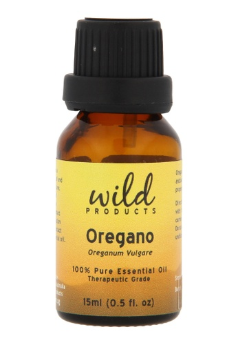 Wild Products Oregano Essential Oil (Origanum Vulgare) - 15ml D3F1ABEA08018BGS_1