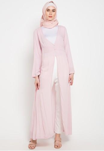 Aira Muslim Butik pink Ramitha Outer 7653EAA5288115GS_1