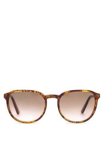 Vasuma brown Tokara Sunglasses VA855GL54IAZPH_1