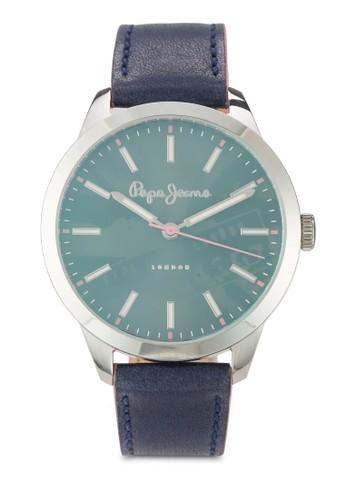 R2351121503 Meg  簡約皮革圓錶, 錶類, 飾品esprit台北門市配件