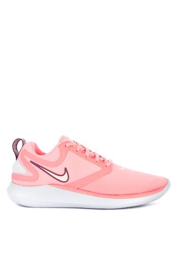 Nike pink Women's Nike Lunarsolo Running Shoes E275ESH7CEC527GS_1