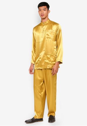 Gene Martino gold Traditional Baju Melayu 6F5BEAAECDE74DGS_1
