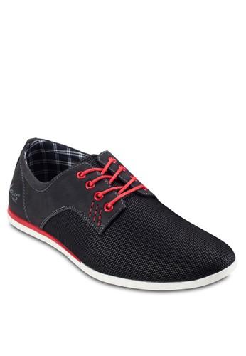 撞色繫帶正式esprit門市感休閒鞋, 鞋, 鞋