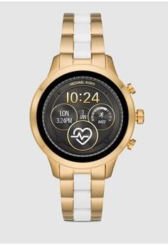 4a377f02972f MICHAEL KORS gold Runway Digital Smart Watch MKT5057 1C387AC796585FGS 1